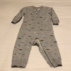Carters 18 month jersey one piece long sleeve.